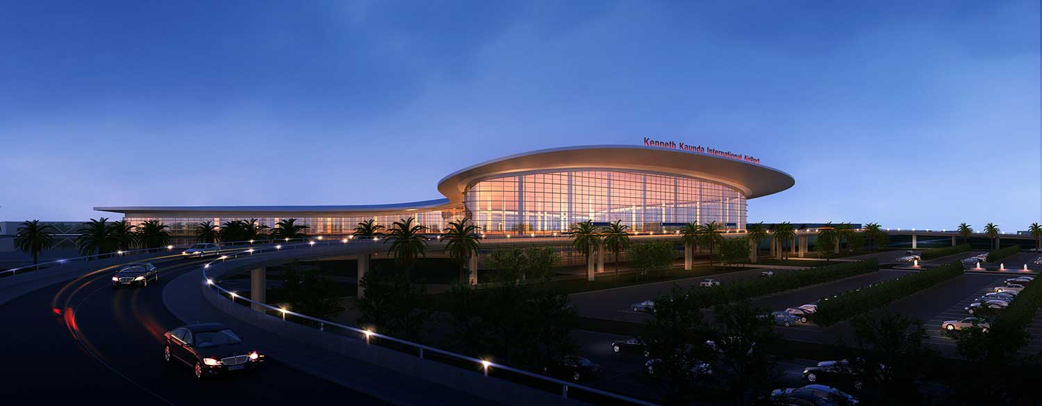 THE NEW KENNETH KAUNDA INTERNATIONAL TERMINAL